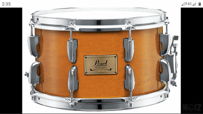 Pearl 12x7 maple snare