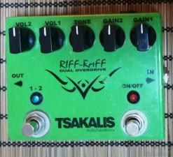 Riff Raff Tsakalis overdrive