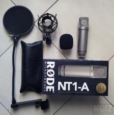 Rode NT1-A + Pop filter