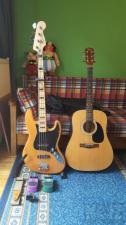 Squier VM Jazz Bass + Κιθάρα