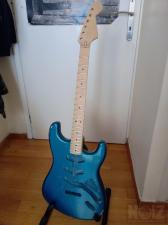 strat body(mjt) - neck(musikraft)