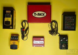 T-REX FUEL TANK JUNIOR, ARTEC VINTAGE PHASER, BEHRINGER ULTIMATE CHORUS
