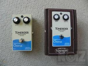 Tonerider SuperLush Chorus & Digitech Metal Master distortion pedals