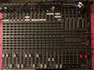 ΚΟΝΣΟΛΑ ΗΧΟΥ StudioMaster console Proline 16-4-8 Gold