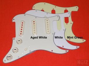 Aged White Pickguard