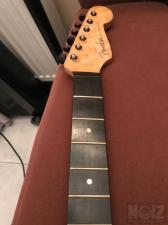 Fender Strat style birdseye neck