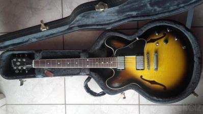 Gibson es 335 dot 2006 tobacco