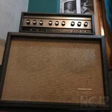 Vintage 1965 Sears Silvertone Model 1484 Twin Twelve Guitar Amplifier