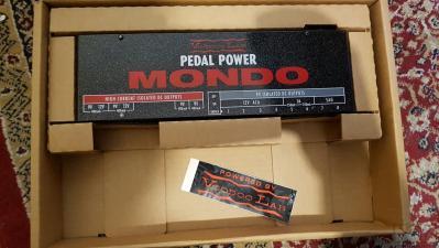 Voodoo Lab Mondo + Pedaltrain Bruckets