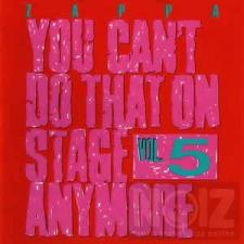 Zappa – You Can't Do That On Stage Anymore Vol. 5