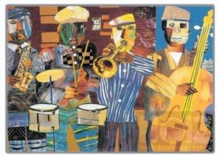 Ορχήστρα μουσικό  λαϊκό σχήμα