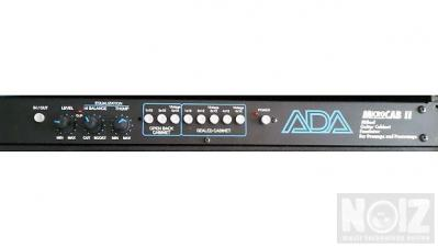 ADA MicroCab Miked Guitar Speaker Emulator Rack Processor