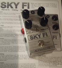 Alexander Pedals - SKY FI (delay/reverb)