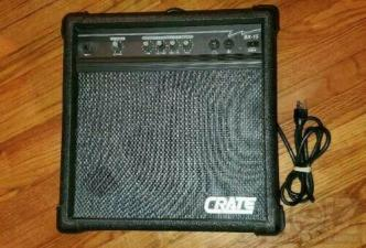 CRATE BX-15 bass amp