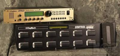Digitech 2112 analog tube FX