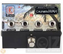 eden californiwah bass envelope  filter pedal