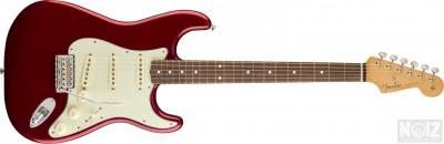 fender classic 60s stratocaster pf candy apple red