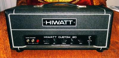 HIWATT CUSTOM 20 Handwired custom shop
