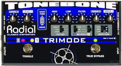 Radial Tonebone Trimode Tube Distortion