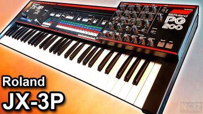 Roland JX8P + PG 200 Programmer 80s