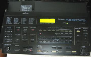 Roland RA50 Arranger +κάρτες