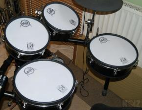 Set E-pads  VJS  10''X2 τεμ + 12''X2 τεμ, black