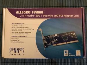 Sonnet Allegro FW800 Mac/Win