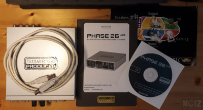 Terratec Producer PHASE 26 USB Audio/MIDI Interface