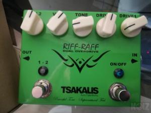 Tsakalis Riff Raff Dual Overdrive