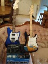 Bullet Mustang, Affinity Stratocaster , BossME25
