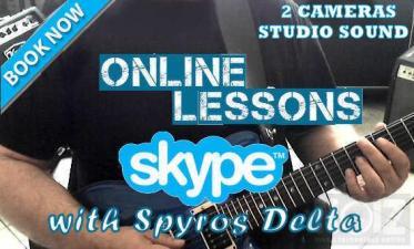 Spyros Delta - Skype Guitar Lessons