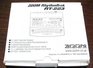 Zoom RhythmTrak RT-223 - DRUM Machine